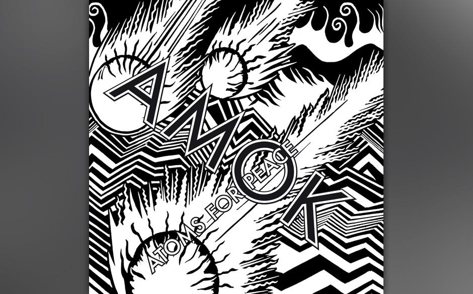 Atoms For Peace - 'Amok'. Thom Yorke komponiert im Kollektiv weniger klaustrophobisch und weniger leidvoll.
