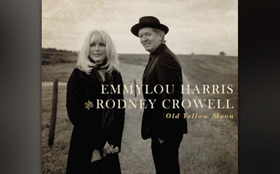 Old Yellow Moon von Emmylou Harris und Rodney Crowell. Eine abgeklärte Leistung zweier Routiniers. die auch ohne egomanische