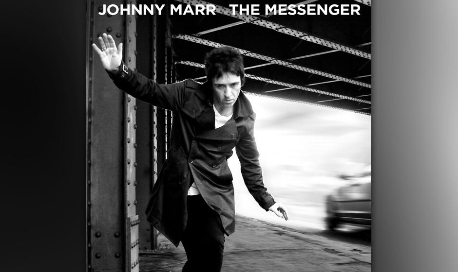 Johnny Marr - 'The Messenger'. Das einzigartige jinglende Gitarrenspiel, das man bei den Smiths so liebte, dringt selten durc