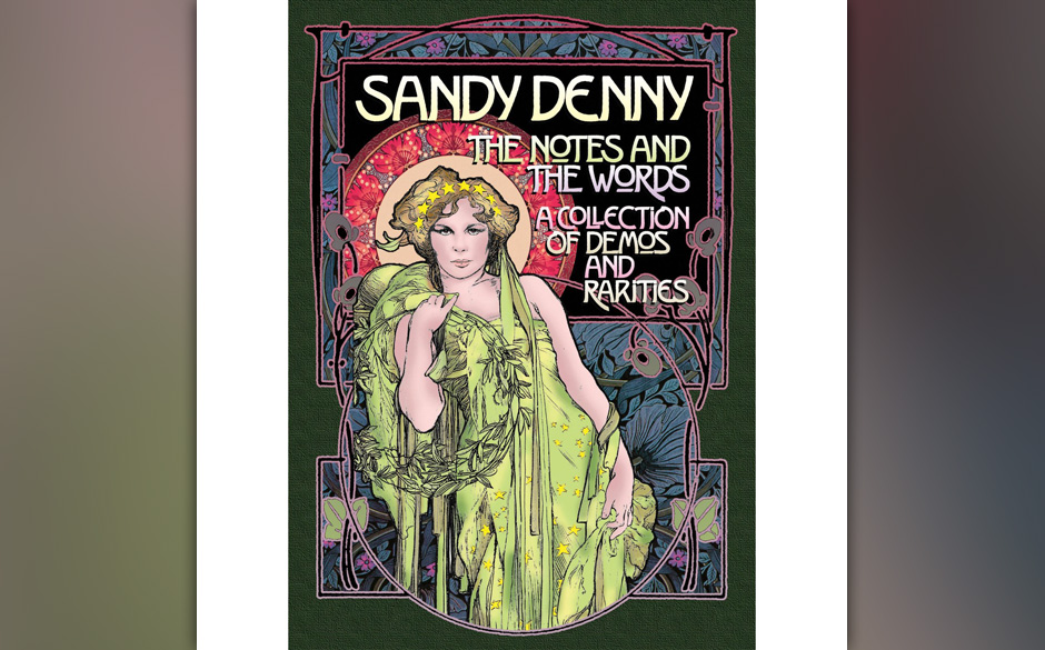 Replay: Sandy Denny - 'The Notes And The Words'. Retrospektive der großen Folk-Sängerin als Destillat aus 19 CDs.