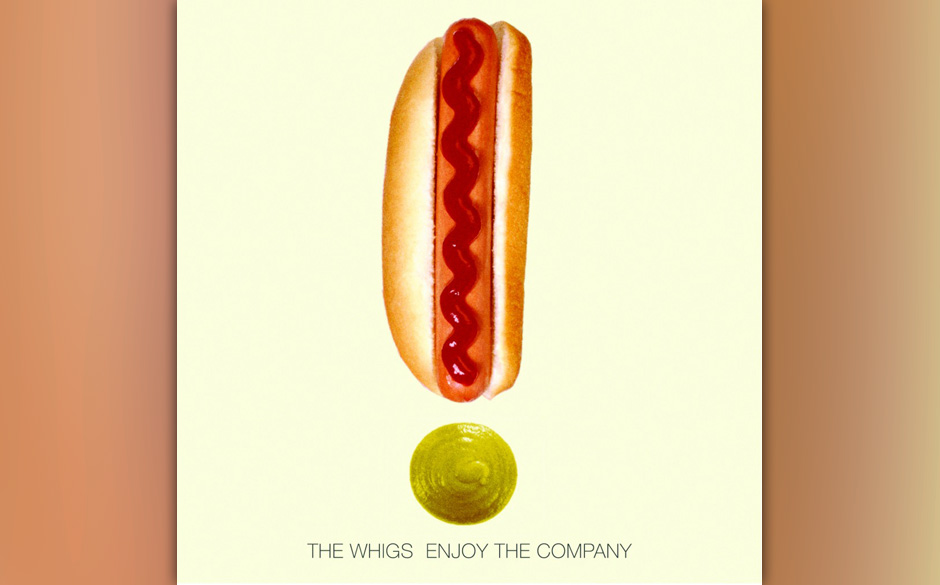 The Whigs - 'Enjoy The Company'. Wer Garage Rock für tot erklärt, kennt The Whigs nicht.