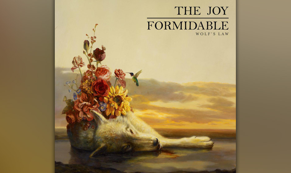 Kicks: The Joy Formidable - 'Wolf's Law'. Kick-Ass-Bravado und arenataugliche Melodien.