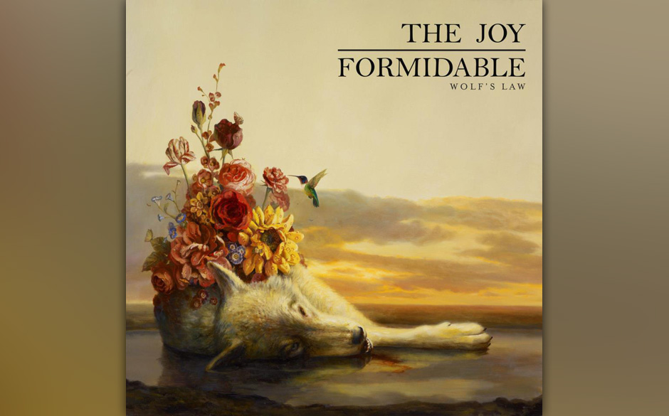 Kicks: The Joy Formidable - 'Wolf's Law'. Kick-Ass-Bravado und arenataugliche Melodien.