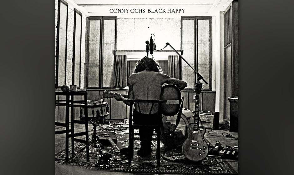 Conny Ochs - 'Black Happy'. Der Songwriter Conny Ochs, ein fahrender Sänger aus den USA, wirft sich in seine Lieder, als wä
