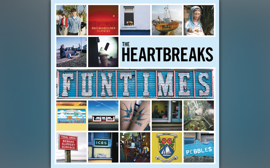 The Heartbreaks - 'Funtimes'.The Heartbreaks spielen ihren kräftigen Gitarrenpop in der Tradition von seufzendem 50s-Rock n