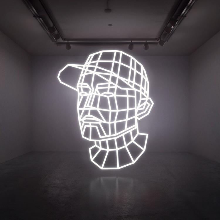 Live auf dem Berlin Festival 2013: DJ Shadow (hier auf seinem Albumcover)