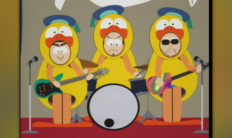 Schrieben auch den South-Park-Titelsong: Primus