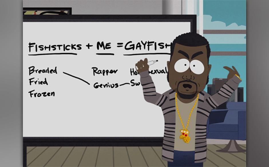 Aus der legendären Fishtick-Folge: Kanye West
