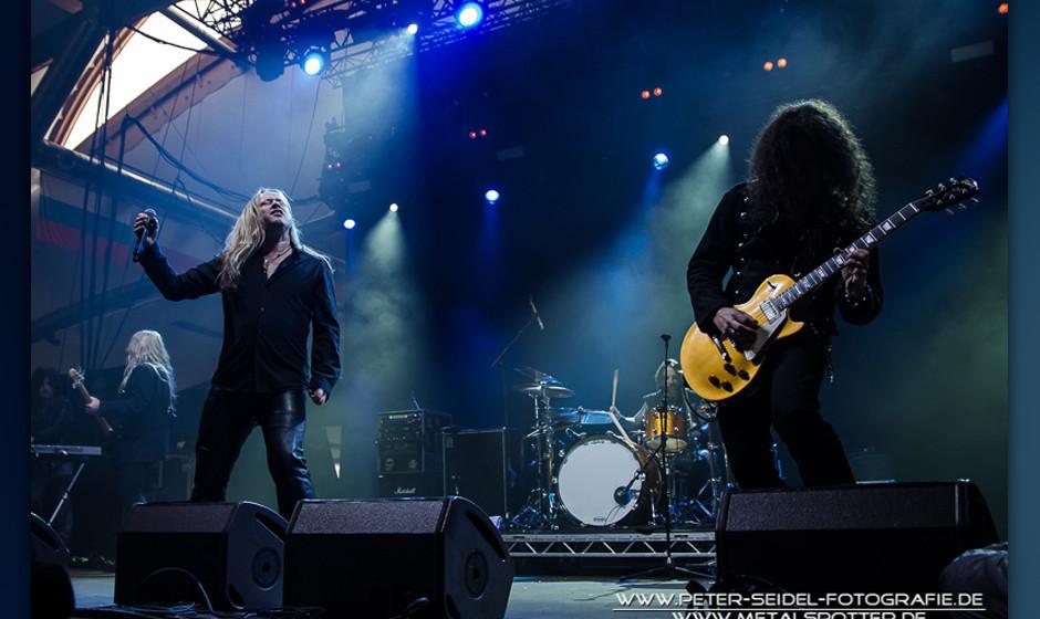 Voodoo Circle beim HiRock Festival 2013