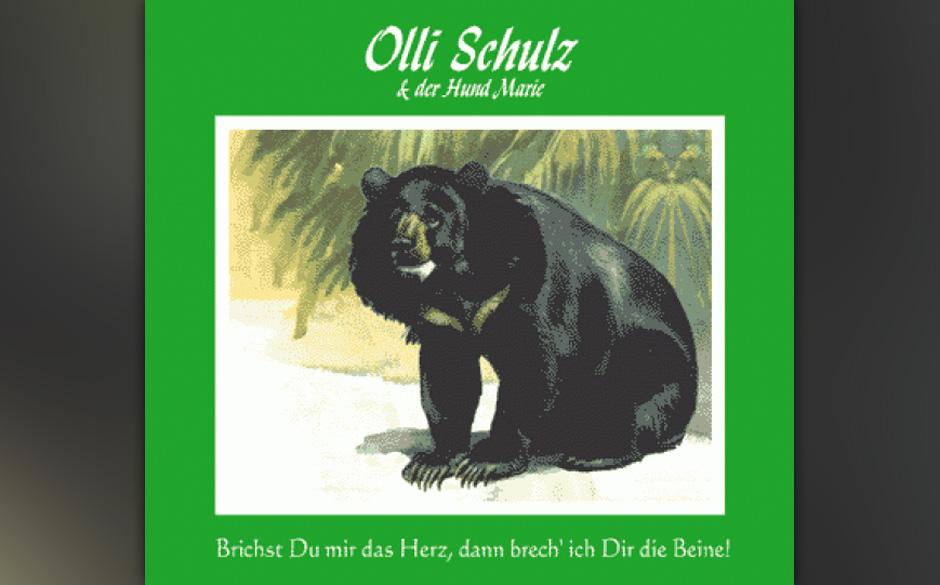 Erster Vinylrelease plus Downloadcode von Olli Schulz: 'Brichst Du mir das Herz, dann brech' ich Dir die Beine.'