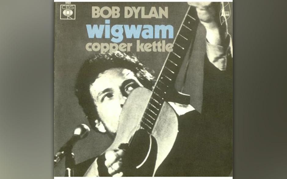 7'-Single mit zwei bisher unveröffentlichten Songs aus den 'Self-Portrait-Sessions':Bob Dylan - Wigwam