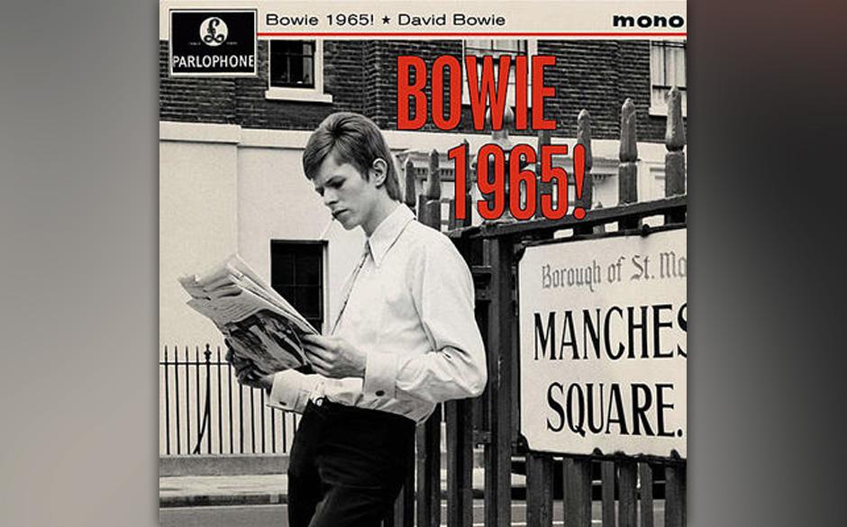 4-Track-EP mit Vierfarb-Cover: David Bowie - 1965! Die EP enthält vier Stücke von/mit Bowie, die im Jahr 1965 entstanden si