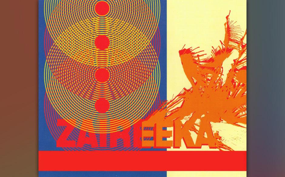 Vierfarbige 12'-Platte von: The Flaming Lips ' Zaireeka'