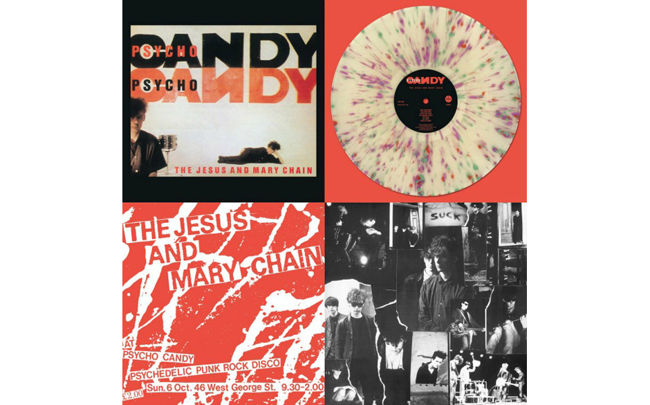 The Jesus and Mary Chain: Psychocandy. 1000 Exemplare, Uk only.