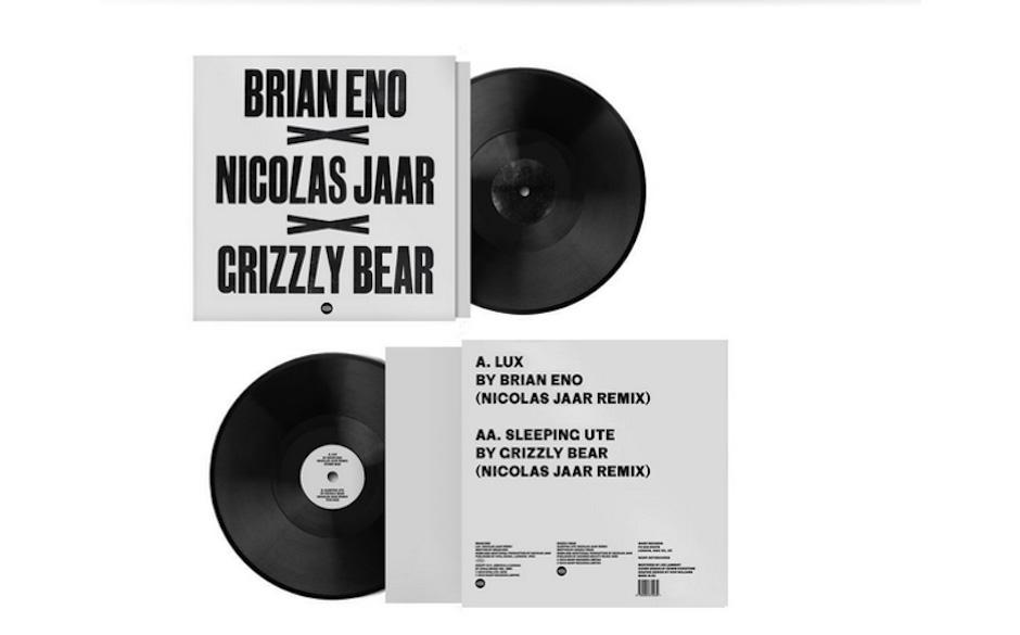 12'-Split-Single: Nicolas-Jaar-Remixe der Songs 'Lux' von Brian Eno und 'Sleeping Ute' von Grizzly Bear.