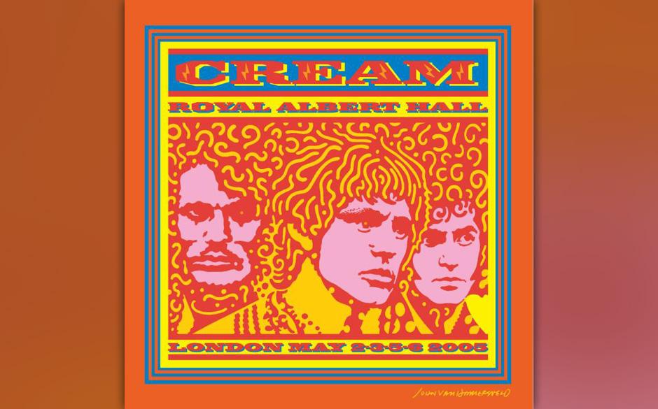 3 LPs: Cream - Live in der Royal Albert Hall (23. Mai 2005)