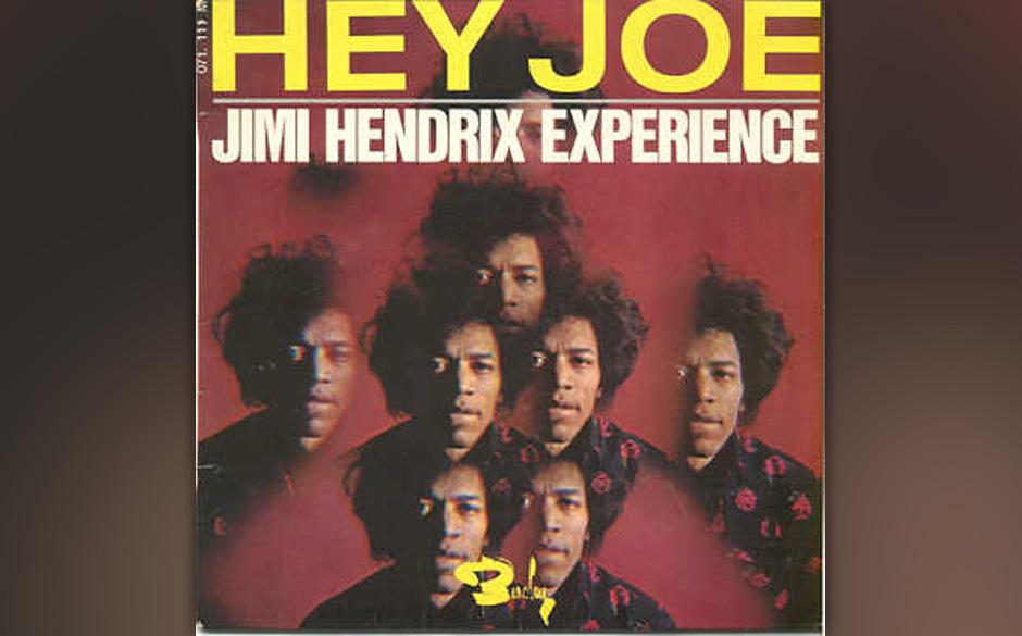 'Hey Joe' und 'Stone Free' von Jimi Hendrix in den Originalversionen (Mono, 7')