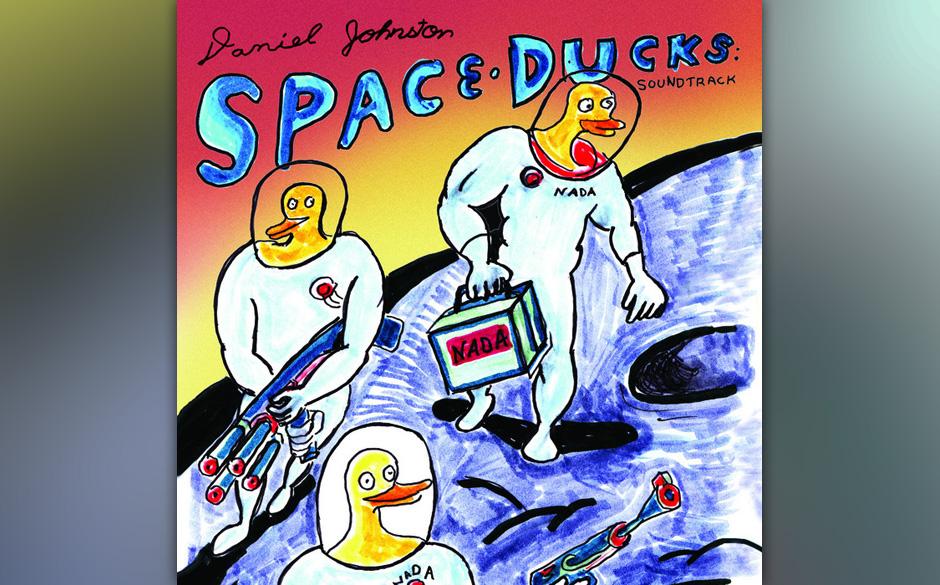 Auf 500 Stück limitierte Vinyl-Edition von 'Daniel Johnston - Space Ducks'. Bei der Platte handelt es sich um einen Soundtra