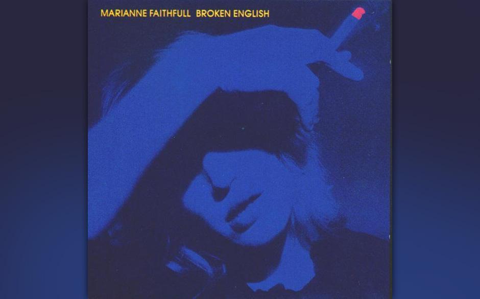 Marianne Faithful - 'Broken English' im Originalmix auf LP.
