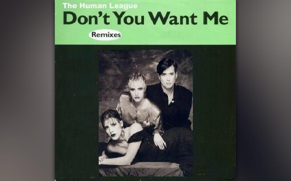 12' von The Human League mit dem Extended Dance Mix und dem Instrumental von 'Don't You Want Me'