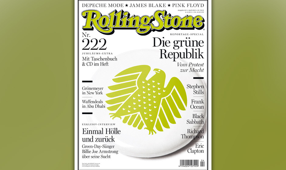 Das Cover der April-Ausgabe.