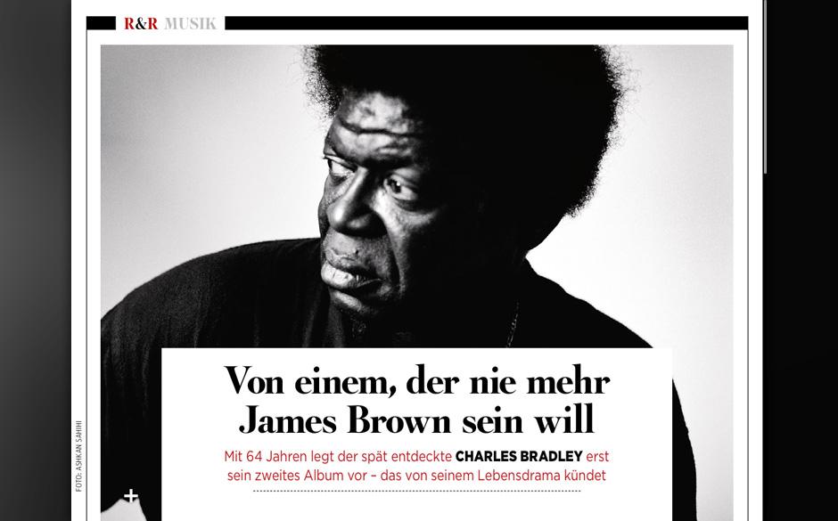 Charles Bradley muss nicht mehr James Brown mimen.