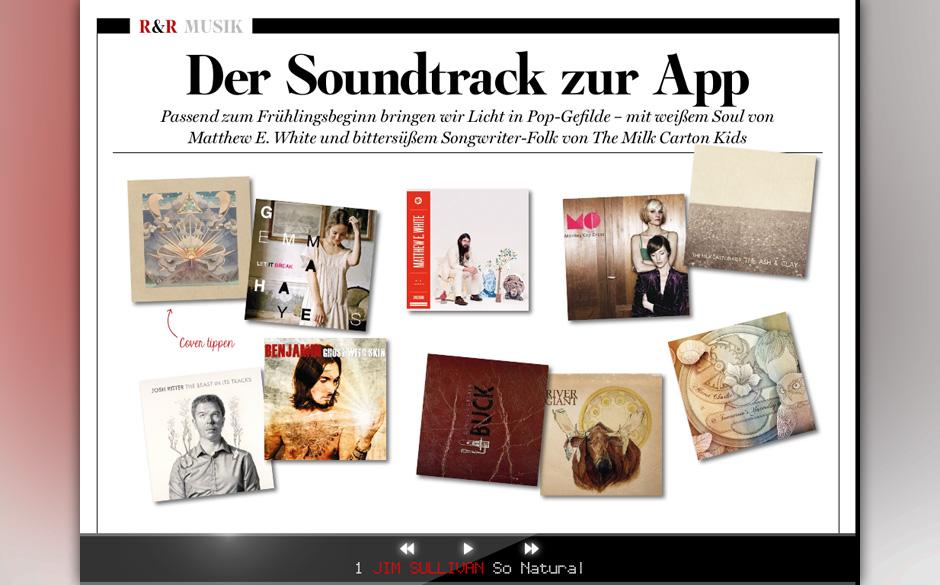 Der Soundtrack zur App.