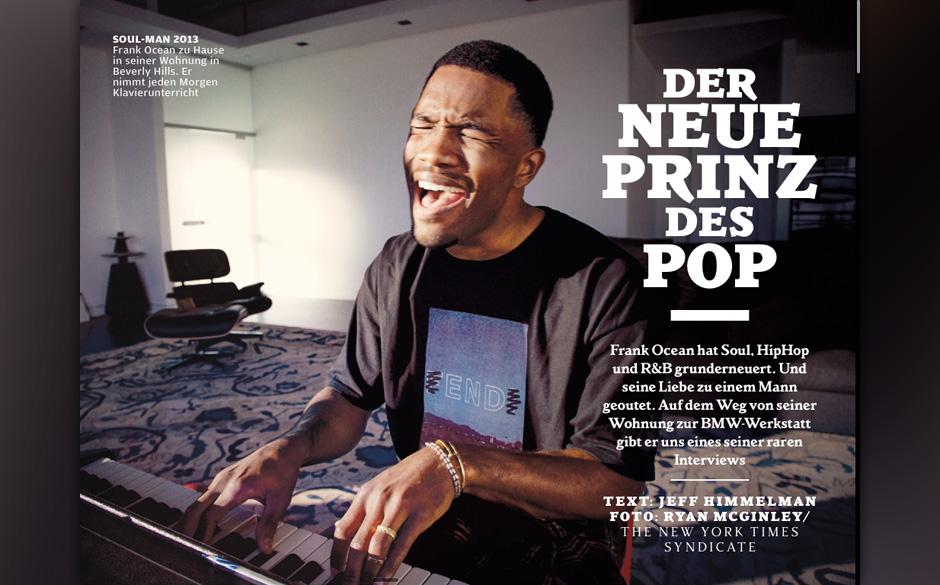 Frank Ocean: Der neue Prinz des Pop.