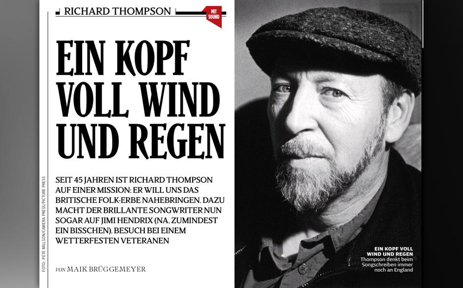 Richard Thompson tritt für den englischen Folk ein.