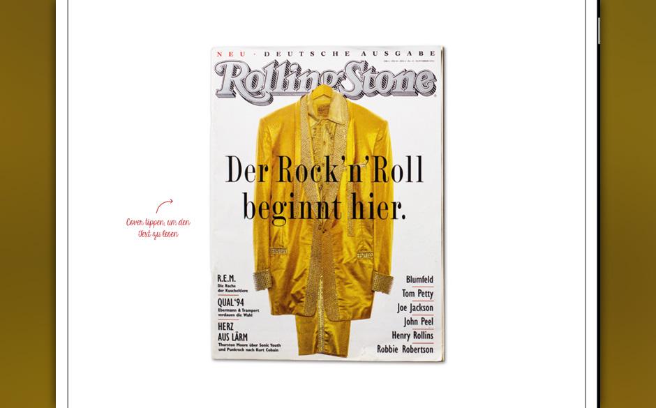 Der Rock 'n' Roll beginnt hier: 222 Ausgaben ROLLING STONE.