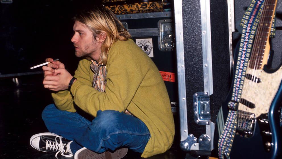 """Jonathan Poneman von Nirvanas Plattenfirma Sub Pop fiel an Cobains Stimme als erstes auf, dass sie """"emotional so vielseitig"""