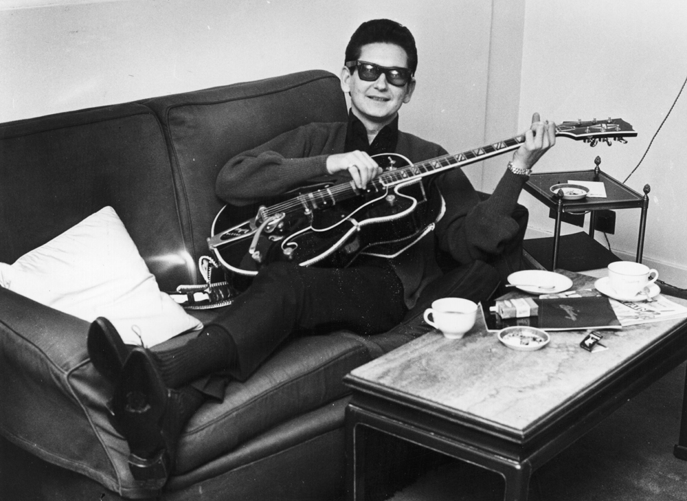 """13. Roy Orbison. Tom Petty nannte ihn den """"vermutlich besten Sänger der Welt"""". Für Bob Dylan, auch er ein Traveling Wil"""
