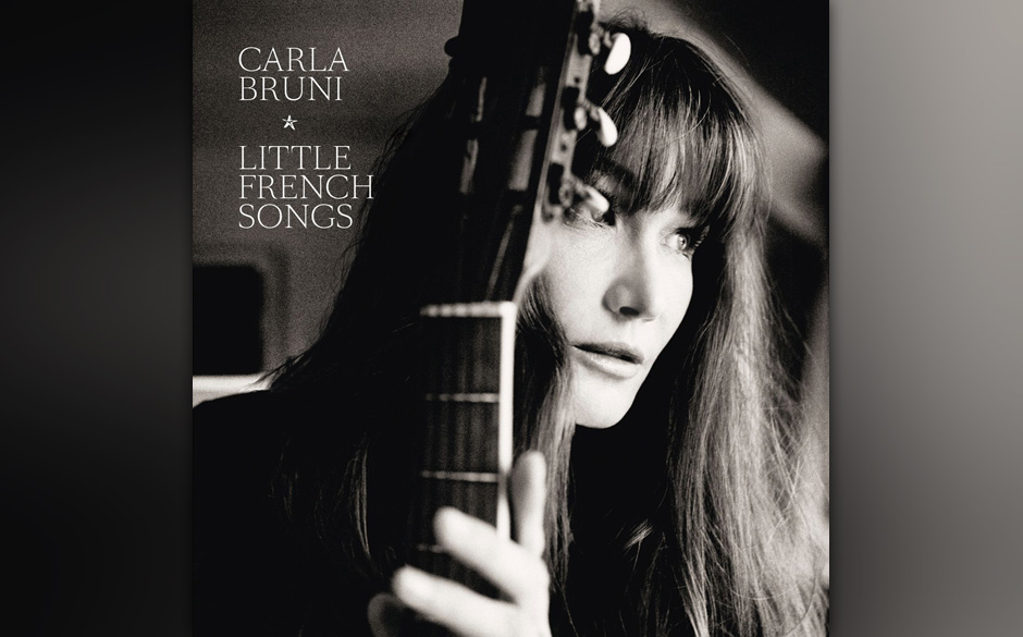 Carla Bruni -'Little French Songs'. Die ehemalige First-Lady Frankreichs macht sich auf ihrem neuen Album angeblich über Sta