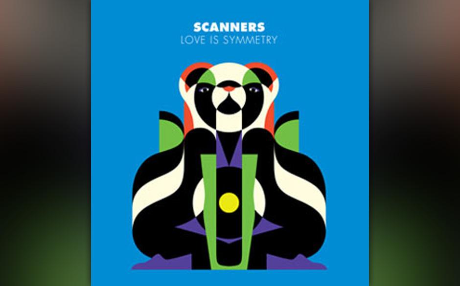 Scanners - 'Love Is Symmetry'. Von Steve Aoki empfohlener Elektro-Indie aus England.
