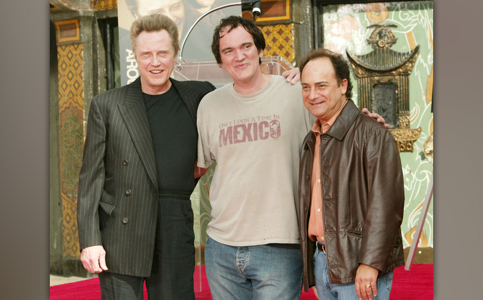 Christopher Walken with Quentin Tarantino and Kevin Pollak (Photo by J. Merritt/FilmMagic)