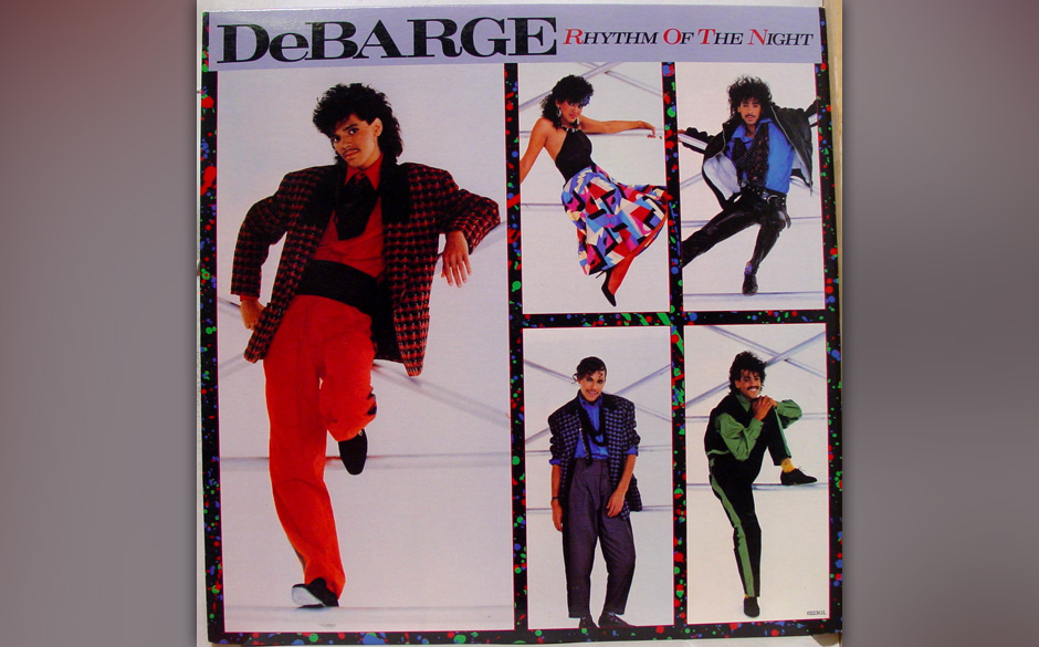 DeBarge - 'Rhythm of the Night'.
