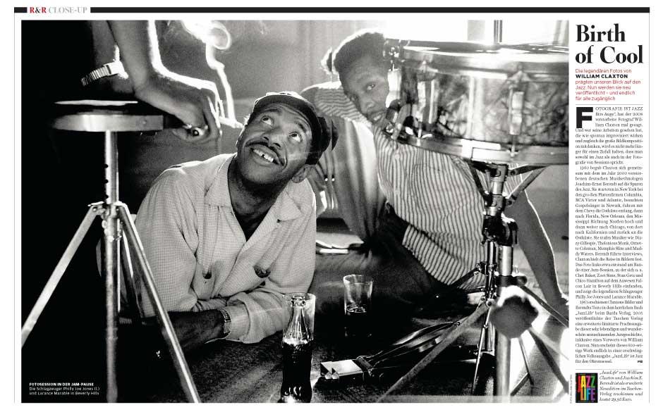 Legendäre Jazz-Fotos von William Claxton.