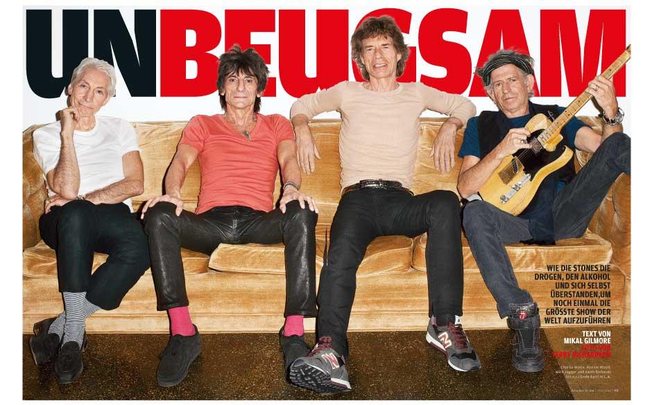 Das einzige aktuelle Interview mit den Rolling Stones.