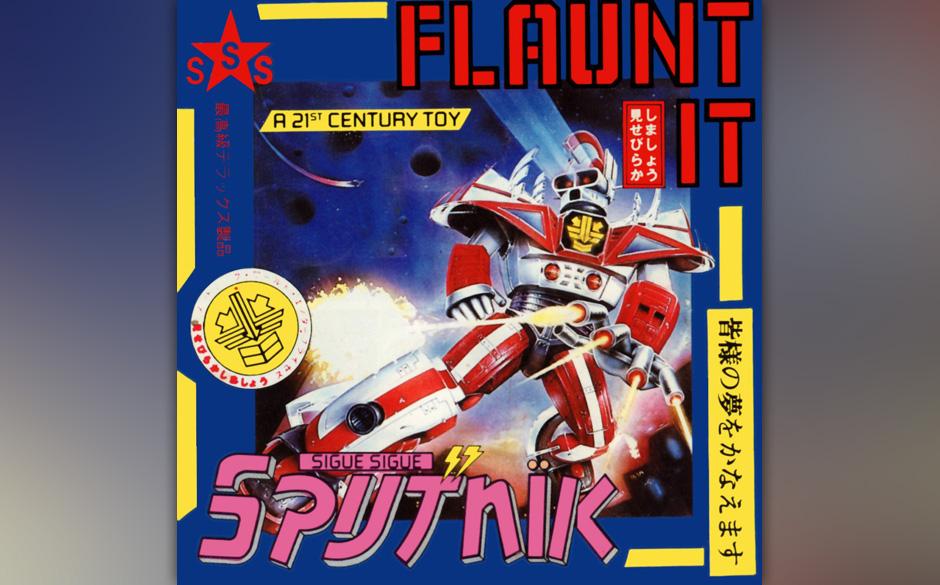 Sigue Sigue Sputnik - 'Flaunt It'.