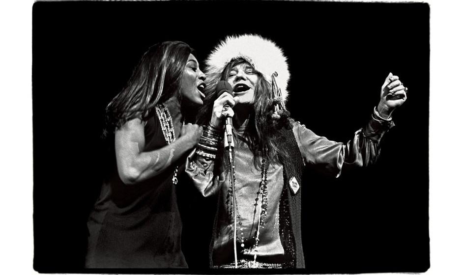 Janis and Tina at Madison Square Garden, November 27, 1969.