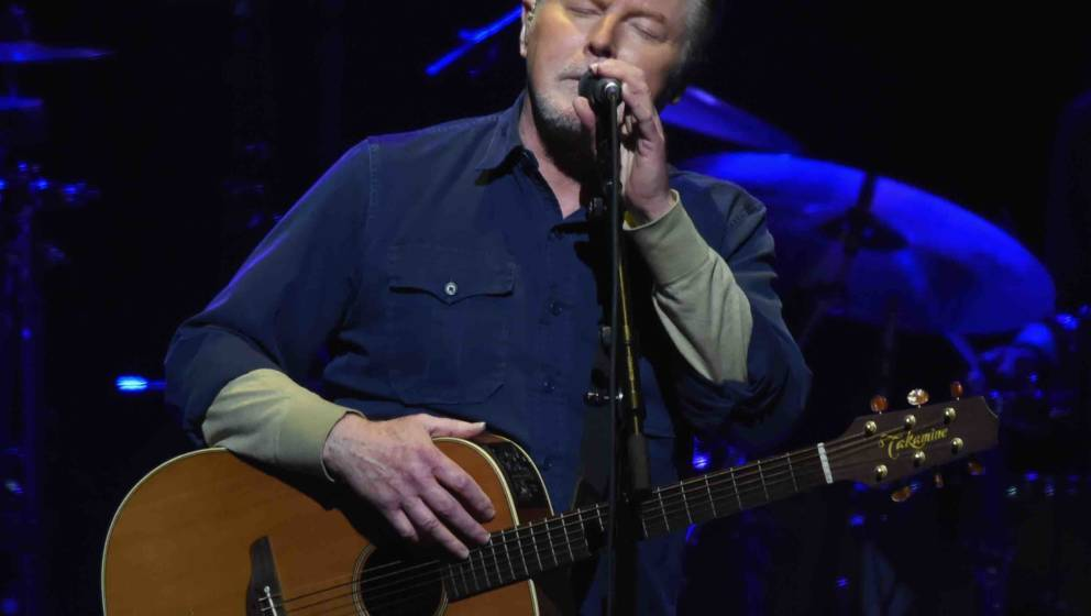 NASHVILLE, TN - OCTOBER 29:  Don Henley of the Eagles performs during SiriusXM presents the Eagles in their first ever concer