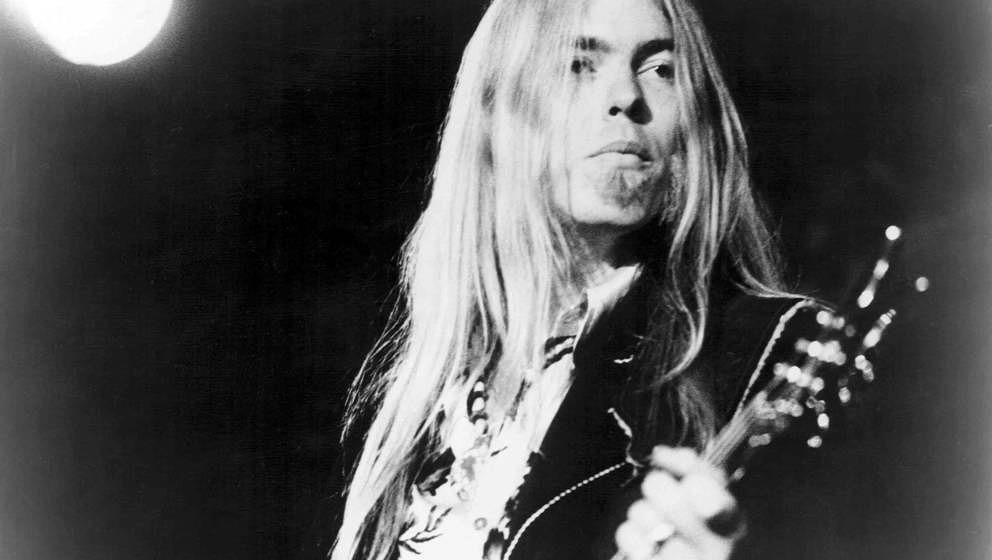 UNSPECIFIED - CIRCA 1970:  Photo of Gregg Allman  Photo by Michael Ochs Archives/Getty Images