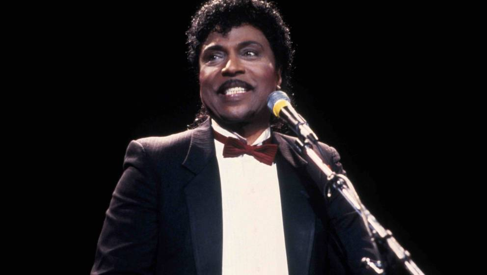 NEW YORK, NY ? CIRCA 1988: Little Richard at the 1988 Rock n Roll Hall of Fame Induction Ceremony circa 1988 in New York City