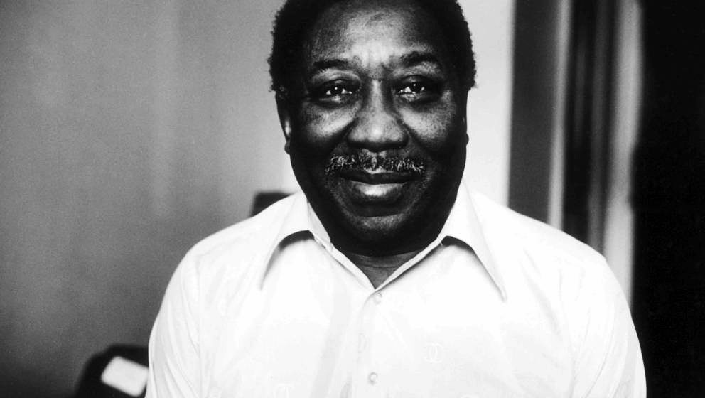 Muddy Waters, portrait, New York, 1978. (Photo by Michael Putland/Getty Images)