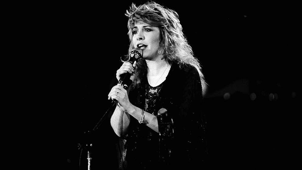 American musician Stevie Nicks performs onstage during the US Festival, Ontario, California, May 30, 1983. (Photo by Paul Nat