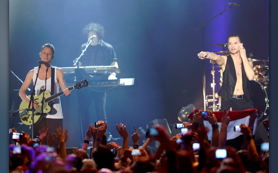 Depeche Mode live in Wien Foto: Markus Nass fuer Electronic Beats by Telekom