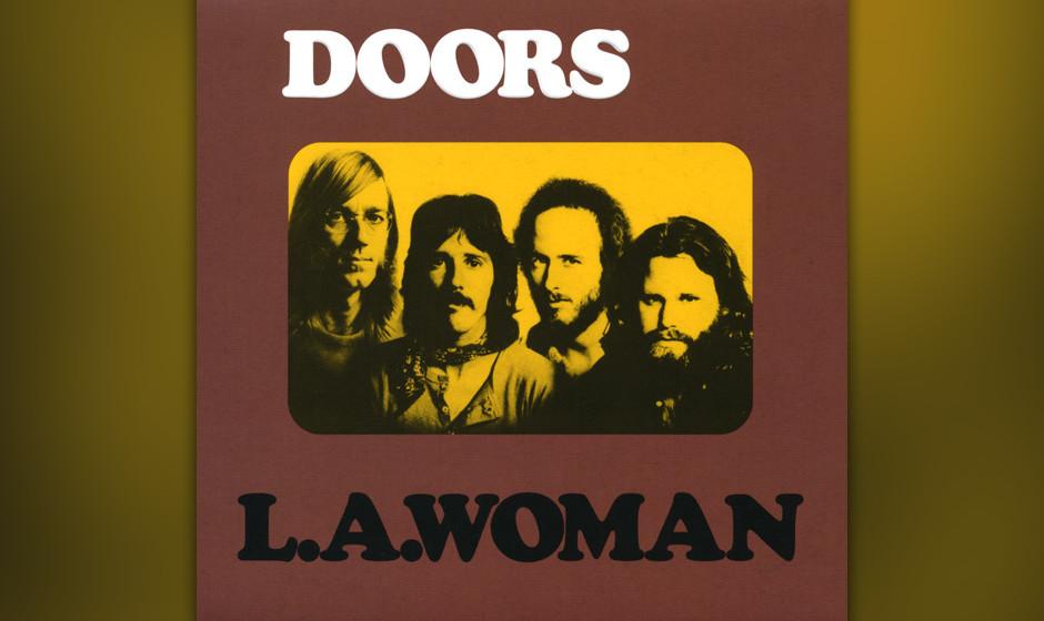 """""""Don't ya love her as she's walkin' out the door?"""", dröhnt er zu Kriegers treibender Gitarre und Ray Manzareks her"""