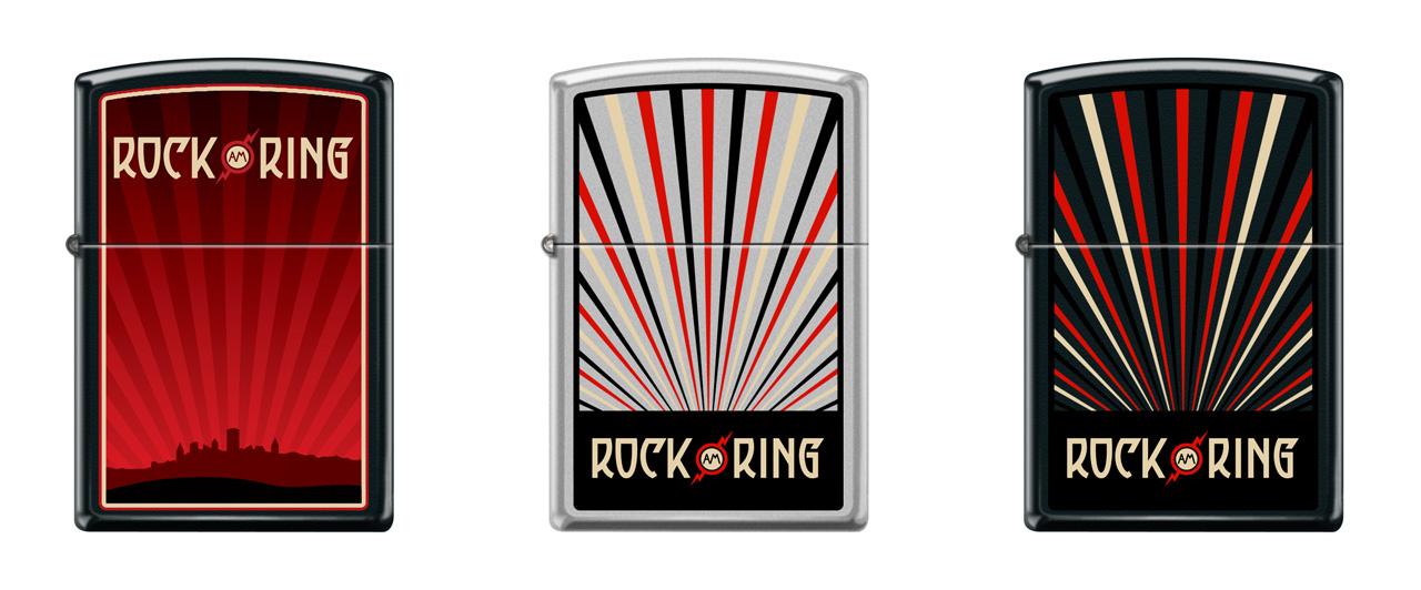 Limitierte Rock am Ring Zippo Edition