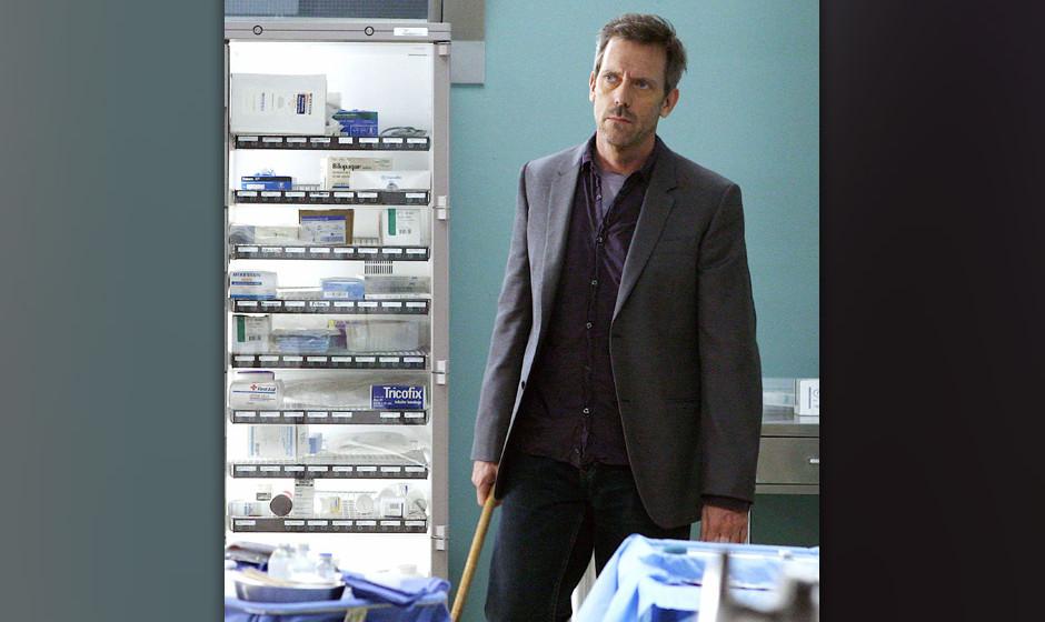 Mit seiner zynischen Art sorgt Dr. House (Hugh Laurie) mal wieder f¸r schlichte Stimmung im Team, doch das r¸ckt in den Hin