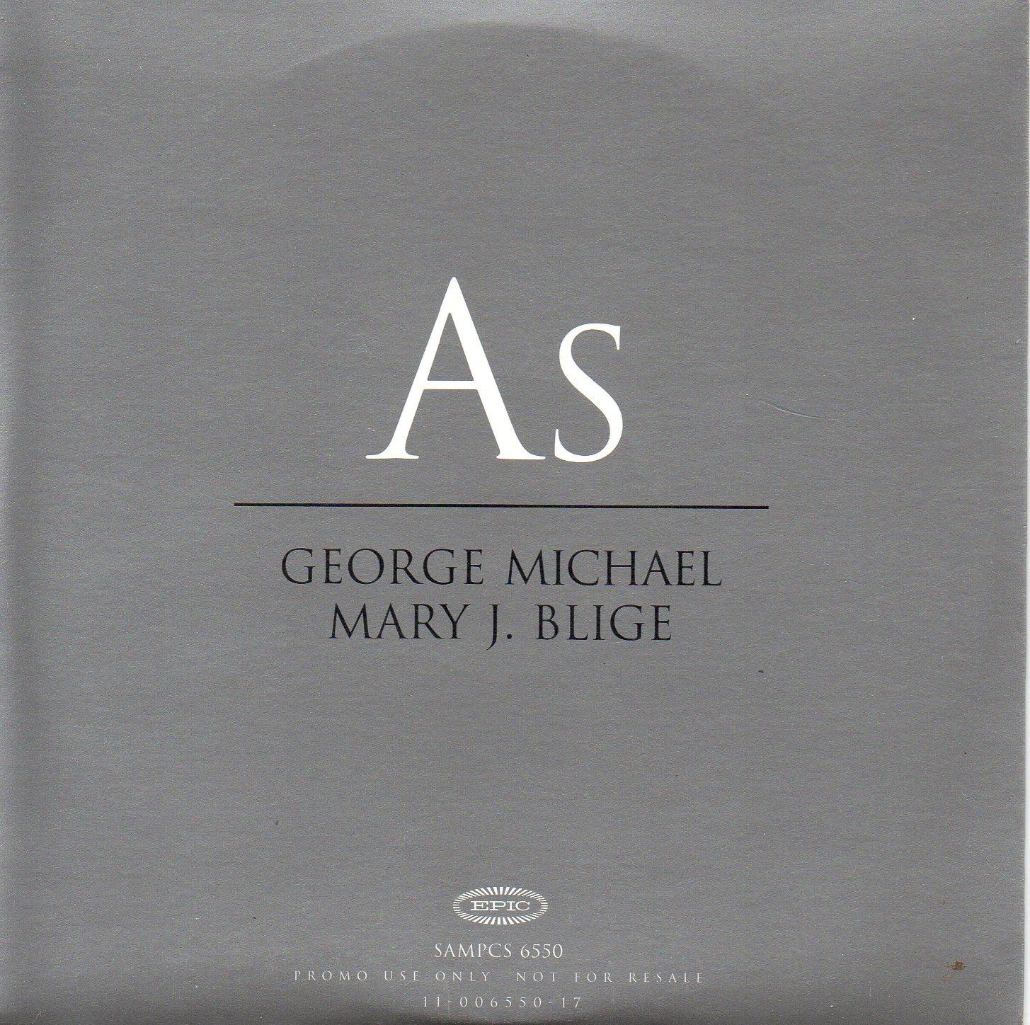 16. George Michael with Mary J. Blige: As. Das Stevie-Wonder-Stück wird im Duett zwischen Mann und Frau eine Art Tauziehen:
